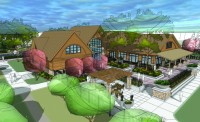 Education and Visitor Center will enhance McCrory Gardens