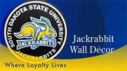 Get your SDSU Jackrabbit Wall Decor