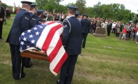 Browns Valley airman, SDSU grad finally laid to rest