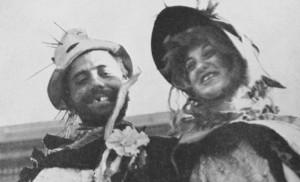 The 1938 Hobo Day royalty—Larry Hoscheid and Anita Quast.