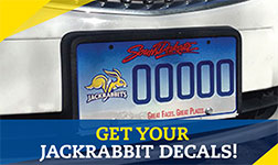 Get your SDSU License Plate Decals