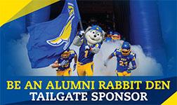 Be an alumni tailgate sponsor