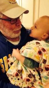 Pat Lyons and grandson,Wyatt Patrick.