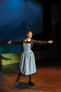"Vetter returned to Prairie Repertory Theatre this summer, performing the role of Maria in ""The Sound of Music."" She first played Maria for PRT as a student in 1999."