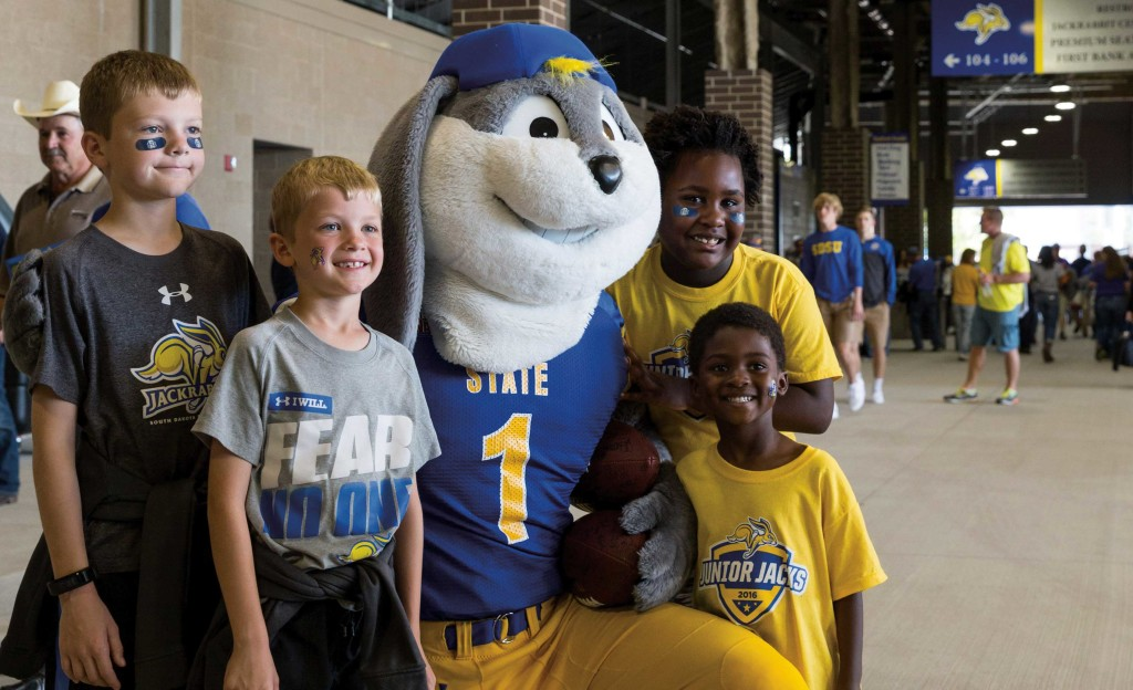 Happy to see Jack: Seeing Jack the Jackrabbit always brings smiles to the faces of fans of all ages.