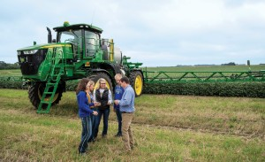 As part of its land-grant mission, State has the nation's first bachelor's degree in precision agriculture. Students learn how to use the latest technology and make crop management decisions when it's their time in the field.