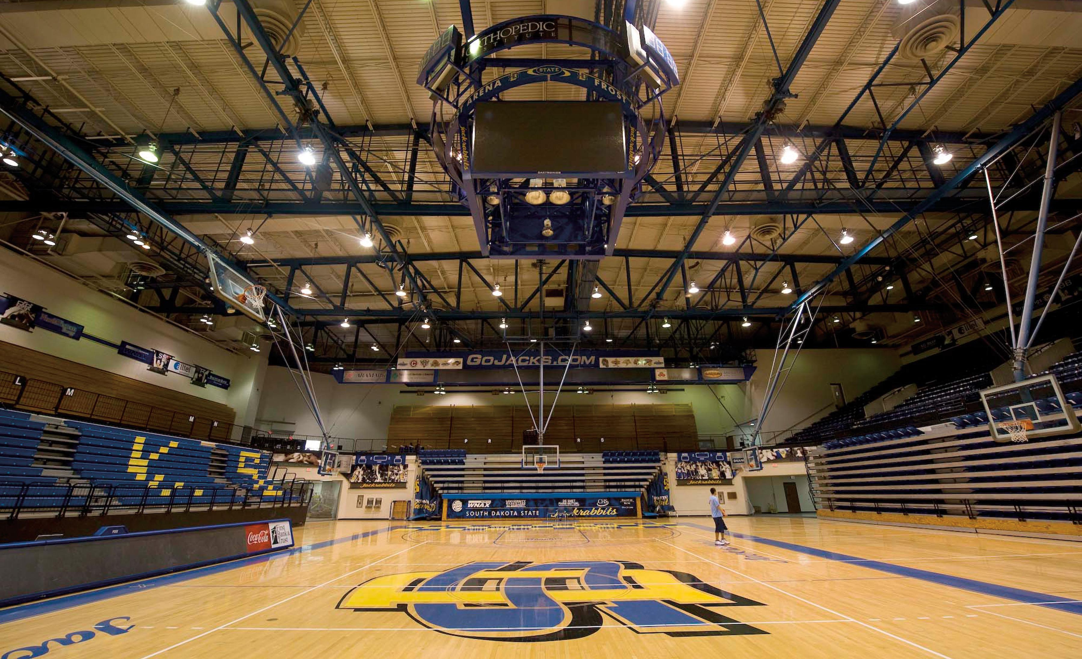 Frost Arena renovation | STATE | South Dakota State University Alumni Magazine | SDState Conntect